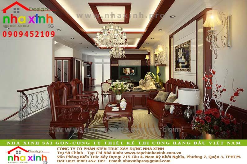 Biệt Thự Đẹp 4 Tầng | Anh Chiện | BT-115 - biet thu 4 tang