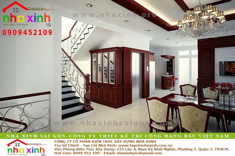 Biệt Thự Đẹp 4 Tầng | Anh Chiện | BT-115 - biet thu dep 4 tang