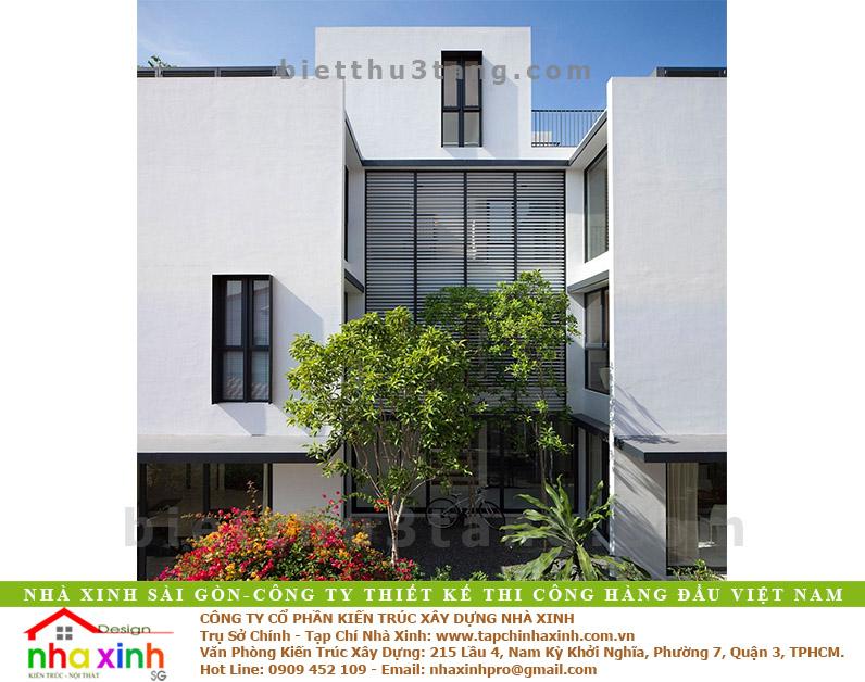 Biệt Thự Đẹp 3 Tầng Anh Mỹ | BT-NX153 - biet thu dep