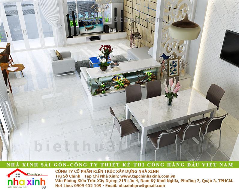 Mẫu Biệt Thự Anh Xuân Quận 7 | BT-139 - thiet ke biet thu hien dai