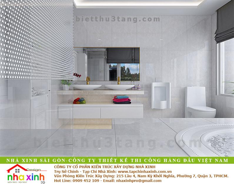 Mẫu Biệt Thự Anh Xuân Quận 7 | BT-139 - thiet ke nha biet thu dep