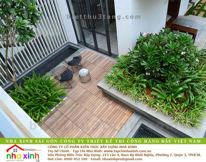 Biệt Thự Vườn Rộng Rãi Thoáng Đãng | BT-159 - thiet ke biet thu vuon