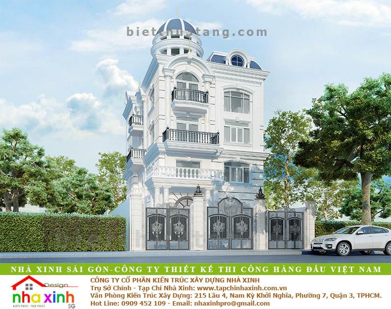 Biệt Thự Tân Cổ Điển Anh Hưng Quận 12 | BT-120 - biet thu dep