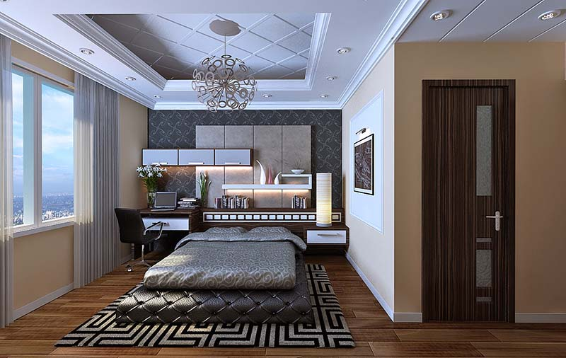 Top Những Mẫu Phòng Ngủ Đẹp Nhất 2017 | NT-207