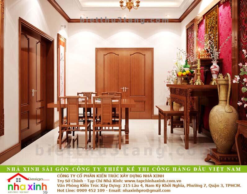Mẫu Biệt Thự Tân Cổ Điển | Ông Hòa | BT-192 - noi that phong tho