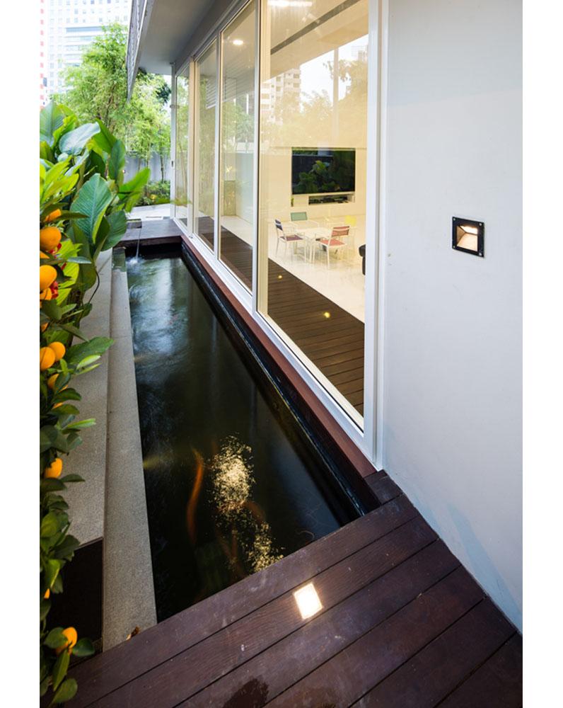 Mẫu Biệt Thự Phố Có Hồ Bơi Trên Sân Thượng | BT-191 - biet thu pho