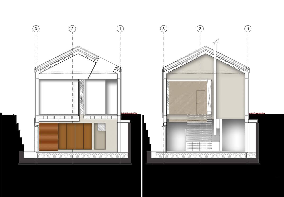 căn nhà được xây bằng đá với khung bê tông (21)