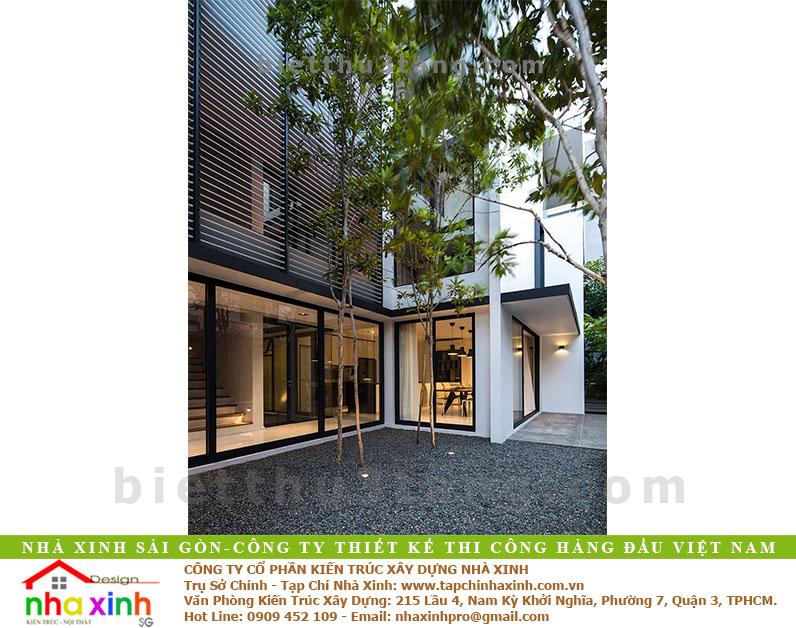 Biệt Thự Đẹp 3 Tầng Anh Mỹ | BT-NX153 - mau biet thu dep