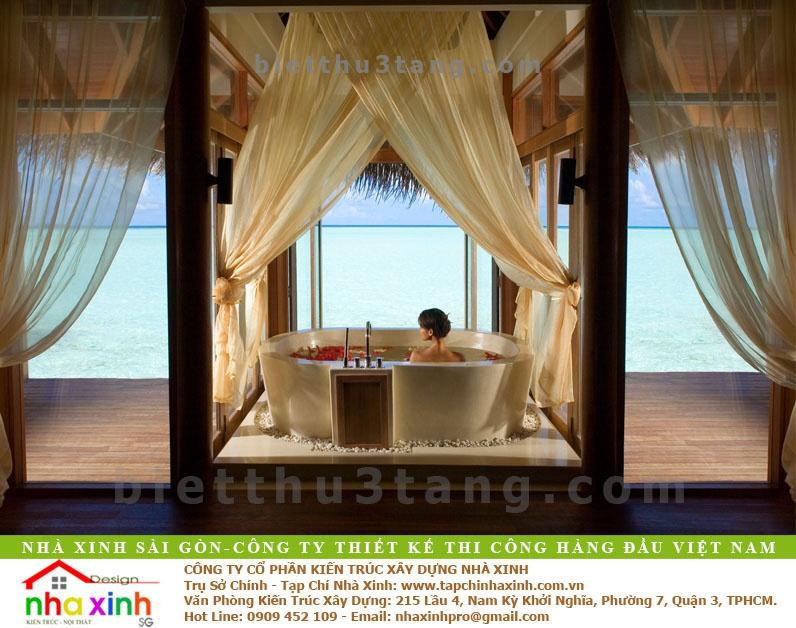 Thiết Kế Nội Thất Phòng Resort 5 Sao