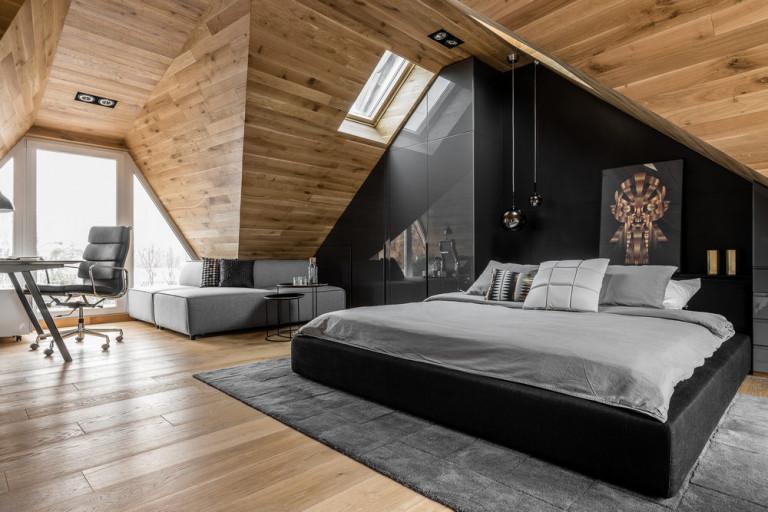 Căn hộ gác mái đầy phong cách hiện đại |NT-178