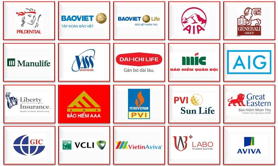 Tổng hợp những công ty bảo hiểm nhân thọ tại Việt Nam
